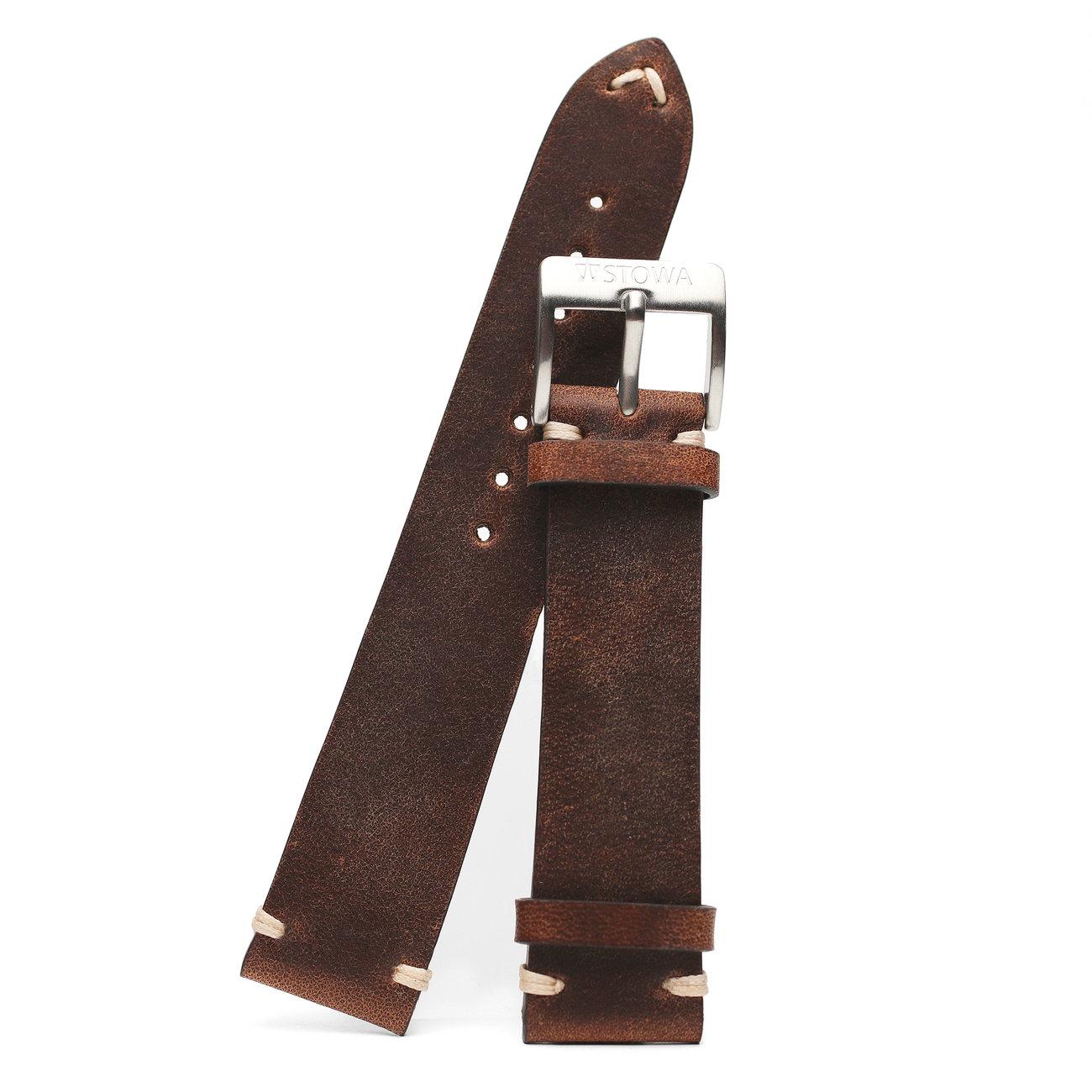 Antique strap brown