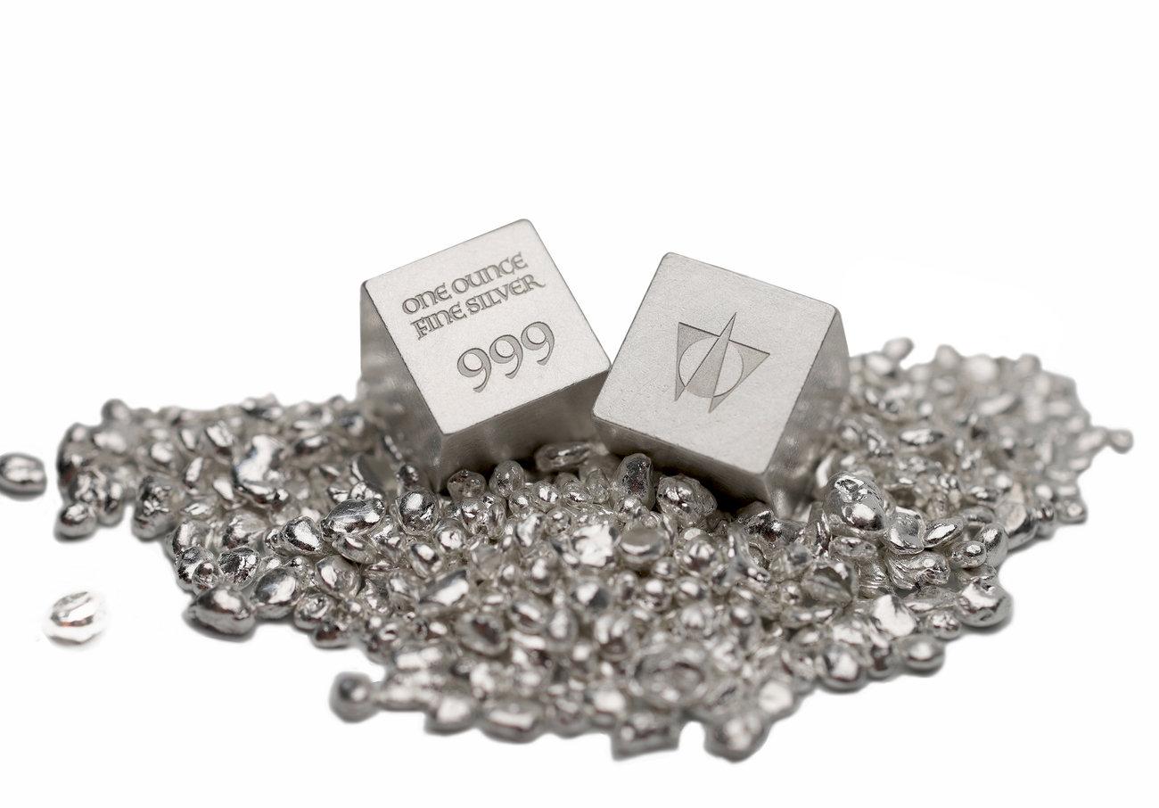 Würfel One Ounce Fine Silver