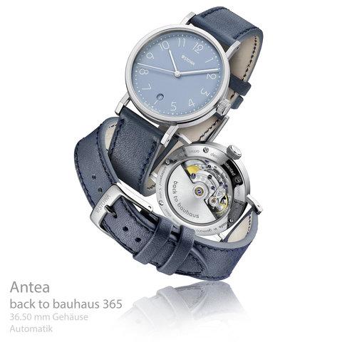 Antea back to bauhaus blau 365 Datum Aktionsuhr