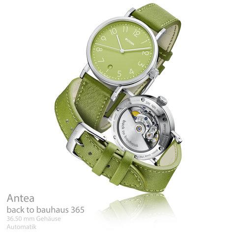 Antea back to bauhaus grün 365 Aktionsuhr