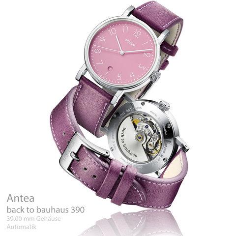 Antea back to bauhaus pink 390 Datum Aktionsuhr