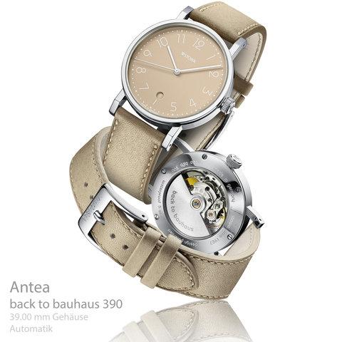 Antea back to bauhaus braun 390 Aktionsuhr